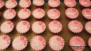 Bloemen cupcakes