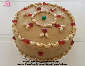 Cashew pete taart - bolo di Cashew pete