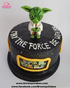 Stars wars taart