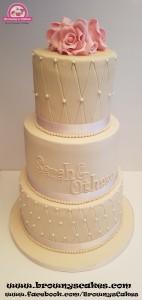 Bruiloft taart - wedding cake
