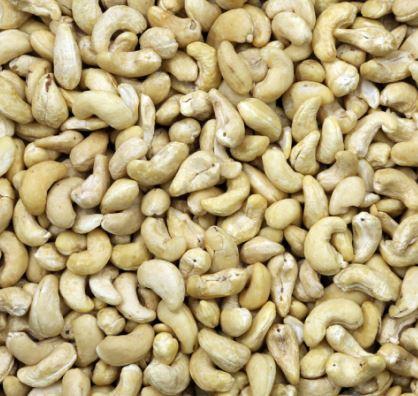 Rauwe ongebrand cashewnoten