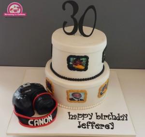 3D Camera taart