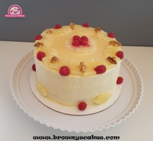 Ponche crema taart - Bolo di Ponche crema