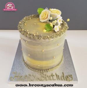Vanille taart - Vanilla cake