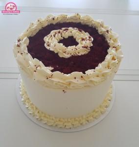 Red Velvet taart