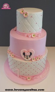 Minni mouse taart